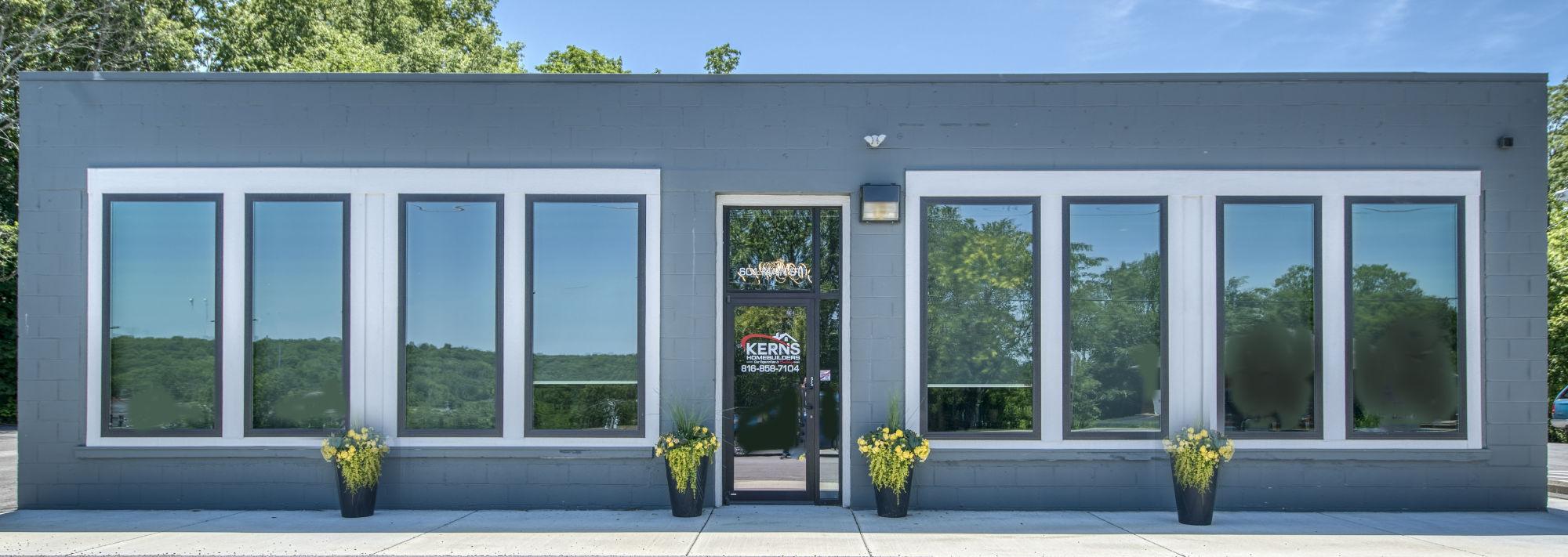 Gary Kerns Homebuilders home office in Platte City